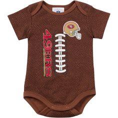 51f71f6c9 Baby Seahawks Fan Pigskin Onesie Baby Sleepers