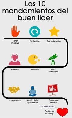 10 Mandamientos del Buen Líder.