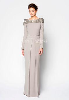 Vestido de fiesta de la firma Victoria coleccion 2017 Modelo Alegoría en exclusiva en Madrid para Eva Novias Calle Mayor, y Calle Goya, 84