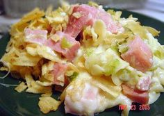 Ham and Cheese Noodle Casserole