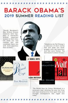 Barack Obama�s 2019 Summer Reading List – The Bibliofile #BookList #Books #BookstoRead #WhattoRead