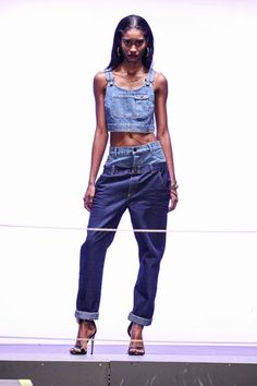 Rihanna's River Island collection boasts a new take on the dungaree trend