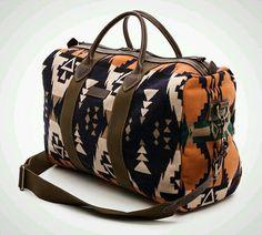 Pendleton Thomas Kay Barrel Bag - Wanderlust: 22 Killer Boho Weekender Bags via Brit + Co. Sac Week End, Barrel Bag, Boho Bags, Mk Bags, Fashion Accessories, Women Accessories, Fashion Bags, Purses And Bags, Jimmy Choo