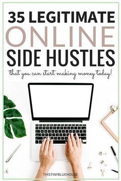 35 Legitimate Ways To Make Money Online In 2019 Looking for a legit way to supplement your income from the comfort of your home? Here are 35 legit ways to start making money from ONLINE side-hustles. Make Money Writing, Make Money Blogging, Money Tips, Blogging Ideas, Writing Jobs, Make Money Fast, Make Money From Home, Earn Money Online, Online Jobs