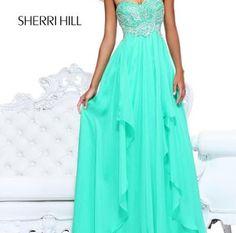 long formal dress Sherri Hill