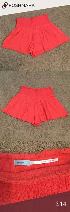 Selling this Red/Orange Kimchi Blue Shorts in my Poshmark closet! My username is: taylorbernier07. #shopmycloset #poshmark #fashion #shopping #style #forsale #Kimchi Blue #Pants