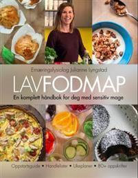LavFODMAP - en komplett håndbok for deg med sensitiv mage Low Fodmap, Ibs, Granola, Oatmeal, Food And Drink, Breakfast, Advent, Cover, Diet