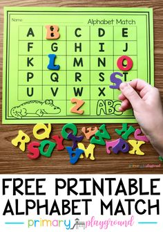 All photo and reference about kindergarten. Alphabet Kindergarten, Preschool Printables, Preschool Lessons, Kindergarten Literacy, Preschool Learning, Preschool Activities, Free Printable Alphabet Letters, Alphabet Learning Games, Kindergarten Language Arts