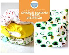 Chralie Banana mosható pelenka teszt