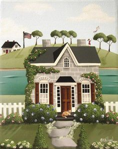 Image detail for -Pleasant Point Painting by Catherine Holman - Pleasant Point Fine Art ...