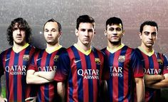 FC Barcelona is my favorite soccer team in the whole world.