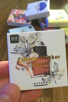 Lovely PVC Label Sticker Set - Perfume
