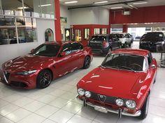 """158 Likes, 1 Comments - Garage Vecchio (@garagevecchio) on Instagram: """"#alfaromeo #aargau #passionalfaromeo #alfaromeogiulia #giuliaquadrifoglio #alfaromeo4c #alfaromeogt…"""""""
