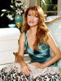 I love Jane Seymour's hair! It's so beautiful, and always has been.