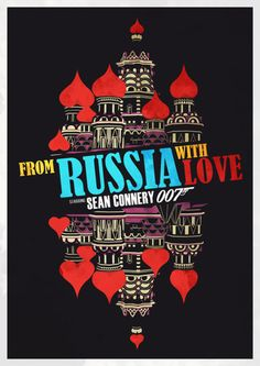 From Russia with Love #movies #movieposters
