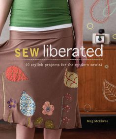 I want that skirt.     UPDATE: I bought this book. The patterns are wonderful. I highly recommend it.