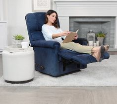 La-Z-Boy Legacy Rocker Recliner w/ Memory Foam & Extended Handle - my aaahhh moment!