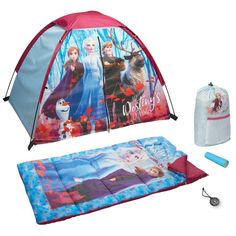 Be as adventurous as your favorite characters and take the world by storm with this Frozen 2 camping set. Little Girl Toys, Toys For Girls, Little Girls, Camping Set, Camping Outdoors, Camping Ideas, Camping Hacks, Frozen Room, Kid Playroom