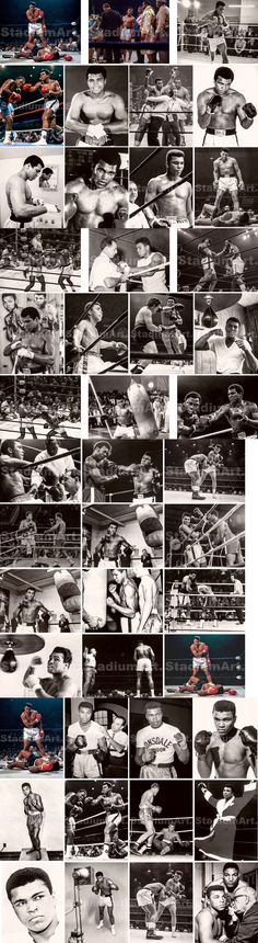 Boxing 1227: Muhammad Ali Boxer Liston Cassius Marcellus Clay Boxing Photo 8X10-48X36 Choices -> BUY IT NOW ONLY: $229 on eBay!
