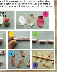 How to Sculpt Miniature Sandwiches from Polymer Clay, new eBook from the Mouse Market.