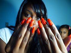 Como Ter Unhas Grandes sem Gastar Nada! | Feminina e Original ♡