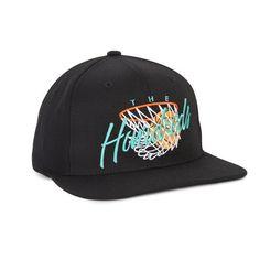 The Hundreds: Hoops Snapback Hat - Black