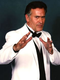 Bruce Campbell - I would love to meet him!
