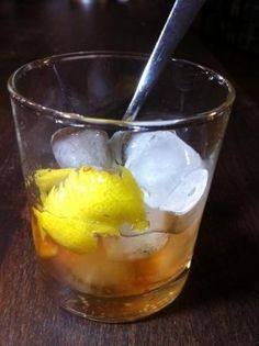 Don Draper's favourite and a real gentleman's drink: Old Fashioned