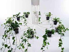 flora planter chandelier
