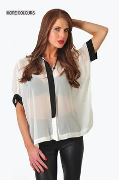 SilverSpoon Box blouse  Now on sale for only R225!!!  www.prettyplease.co.za