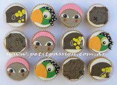 Cupcakes Jake y los Piratas