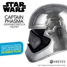 Star Wars: The Force Awakens - Captain Phasma Helmet In Stock & Shipping from Anovos