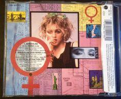 Madonna - Borderline (Cd single - Yellow series) BACK  #Madonna