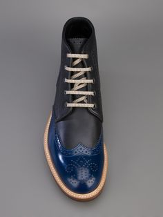 Dsquared2 Lace-up Ankle Boot.