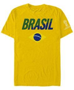 aed95e3d6 Fifth Sun Men s Brazil National Team Gym Wedge World Cup T-Shirt - Yellow  XXL