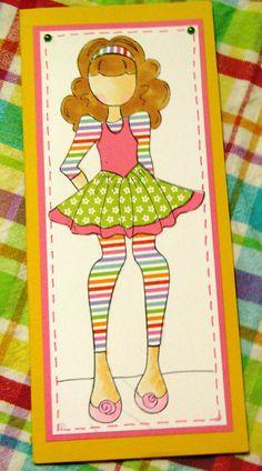 Prima doll card by Carol B.