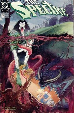 The Spectre #5, Charles Vess cover.