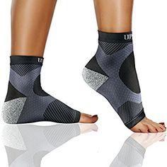 ffd2ec368c Amazon.com: #1 (1 Pair) Best Plantar Fasciitis Foot Sleeves Ankle ...