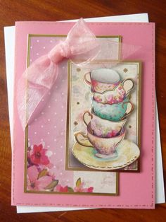 A personal favorite from my Etsy shop https://www.etsy.com/listing/201778311/sweet-china-teacup-birthday-card-stacked