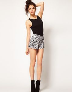 just ordered these wonderful Aztec printed shorts :)