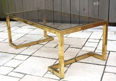 1960's  Guy Lefevre  Coffee Table | From a unique collection of antique and modern coffee and cocktail tables at http://www.1stdibs.com/furniture/tables/coffee-tables-cocktail-tables/