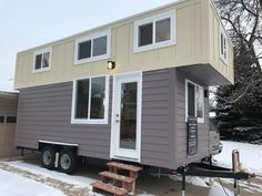 249 Sq. Ft. Tiny House on Wheels by Two Fifty Lifestyles