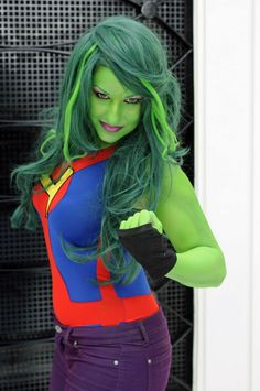 Best Cosplay Ever : Miss Martian, Thor,Sailor Venus, She-Hulk And More - Rolecosplay