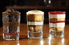 This year, I'm buying plastic shot glasses from Gordon's and making a variety of mini desserts. It's easy - bake up your favorite pies and cakes, then deconstruct and create smaller versions. Everyone can then get a little of each dessert. :-)