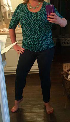 41Hawthorn Berneen Dolman top, Teal, size L, $48, Bay to Baubles Avalon Daisy necklace, $28, August 2015 Stitch Fix #stitchfix