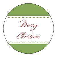 Holiday Envelope Seals christmas holiday