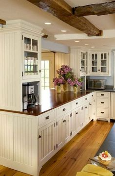 50 Awezome Farmhouse Kitchen Cabinet Makeover Design Ideas