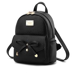Cute Mini Leather Backpack Fashion Small Daypacks Purse for Girls and Women 017495cb1e22f