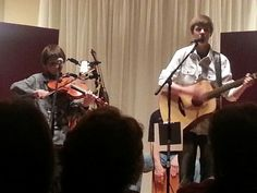 Justin and Colby in concert. Post Falls, Idaho 2013