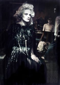 Vogue Itália March 2014   Guinevere van Seenus by Paolo Roversi #fashion #editorial